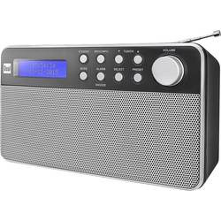 DAB+ Bärbar radio Dual DAB 36 Svart, Silver