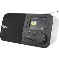 DAB+ Bordsradio Dual DAB 55 Svart, Vit