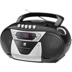 FM CD-radio Dual P 65 FM, AUX, CD, Kassett Svart