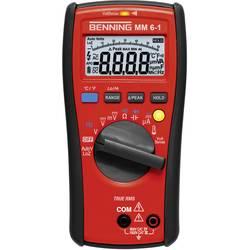 Hånd-multimeter digital Benning MM 6-1 Fabriksstandard CAT III 1000 V, CAT IV 600 V