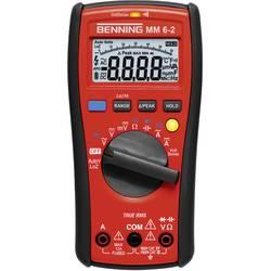 Hånd-multimeter digital Benning MM 6-2 Fabriksstandard CAT III 1000 V, CAT IV 600 V