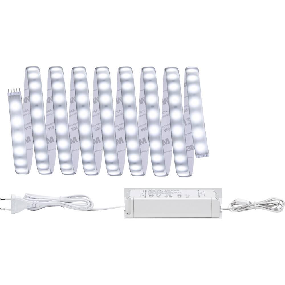 LED-trakovi-osnovni komplet z vtičem 24 V 300 cm dnevno-bele barve Paulmann MaxLED 500 70665