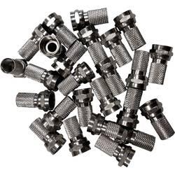F-vtični konektorji v kompletu, premer kabla: 7 mm