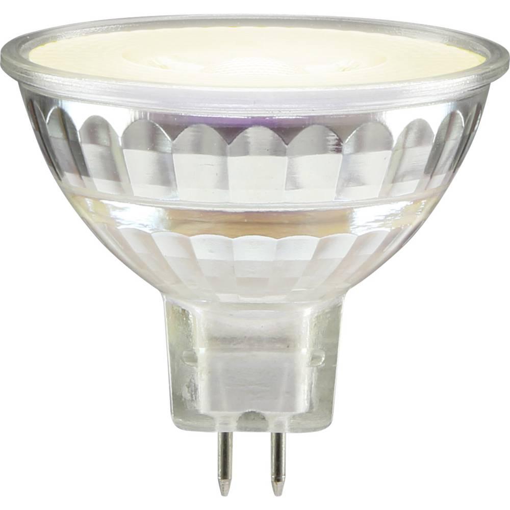 LED žarnica GU5.3 reflektorska 3 W topla bela (premer x D) 44 mm x 50 mm EEK: A++ Sygonix 1 kos