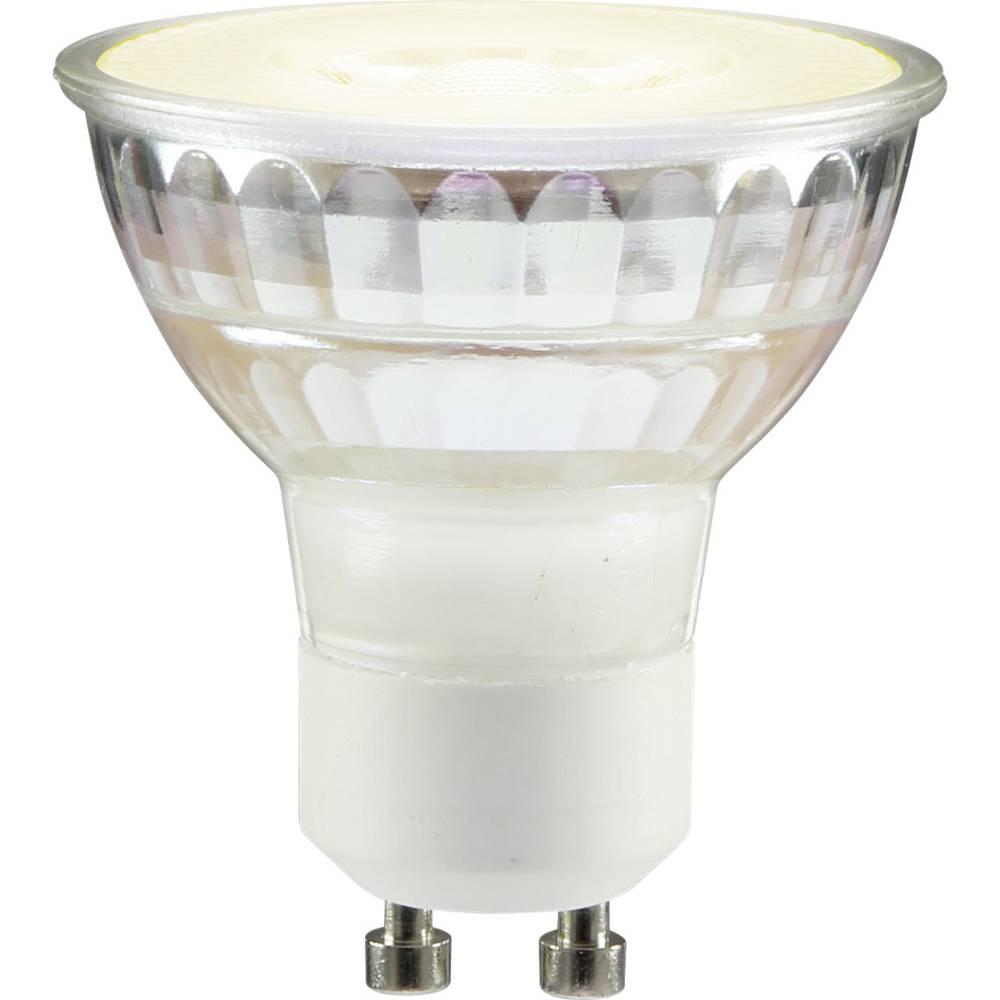 LED žarnica GU10 reflektorska 3.2 W = 35 W topla bela (premer x D) 53 mm x 50 mm EEK: A+ Sygonix 1 kos