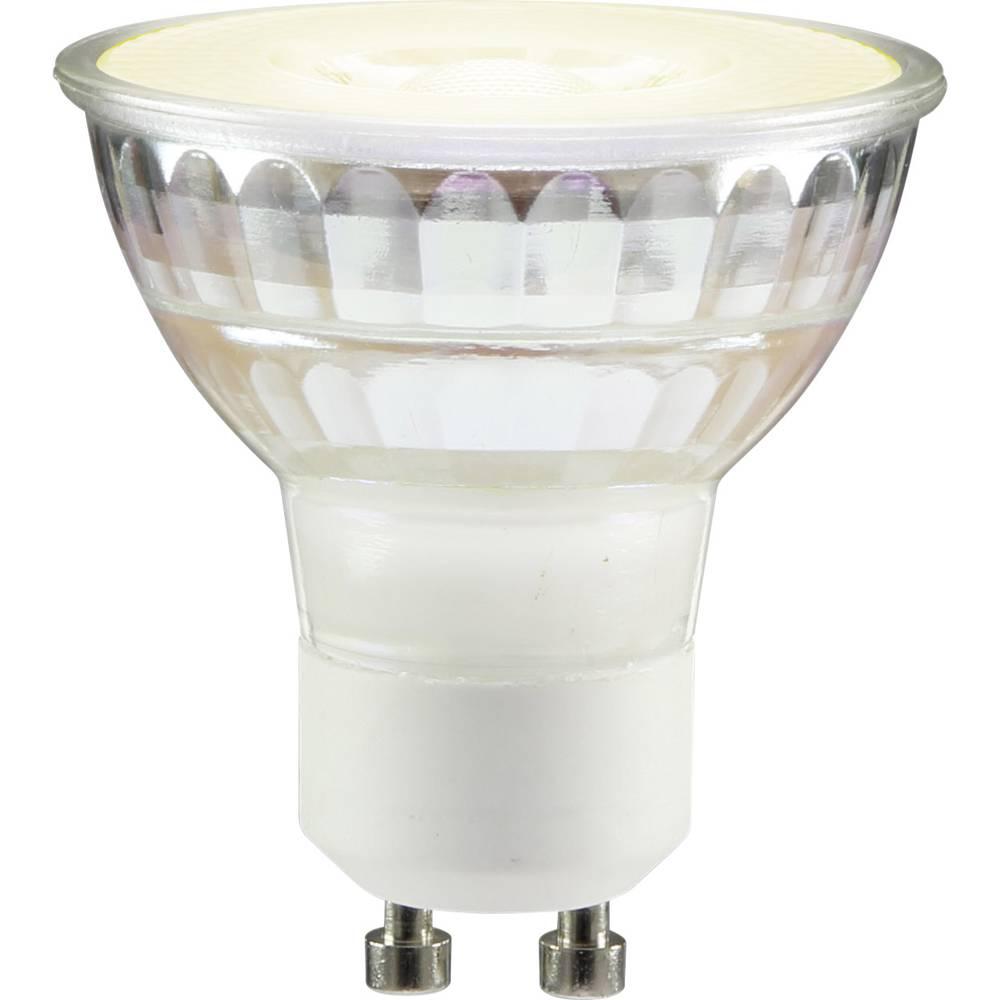 LED žarnica GU10 reflektorska 3.7 W = 35 W topla bela (premer x D) 53 mm x 50 mm EEK: A+ Sygonix dimmbar 1 kos
