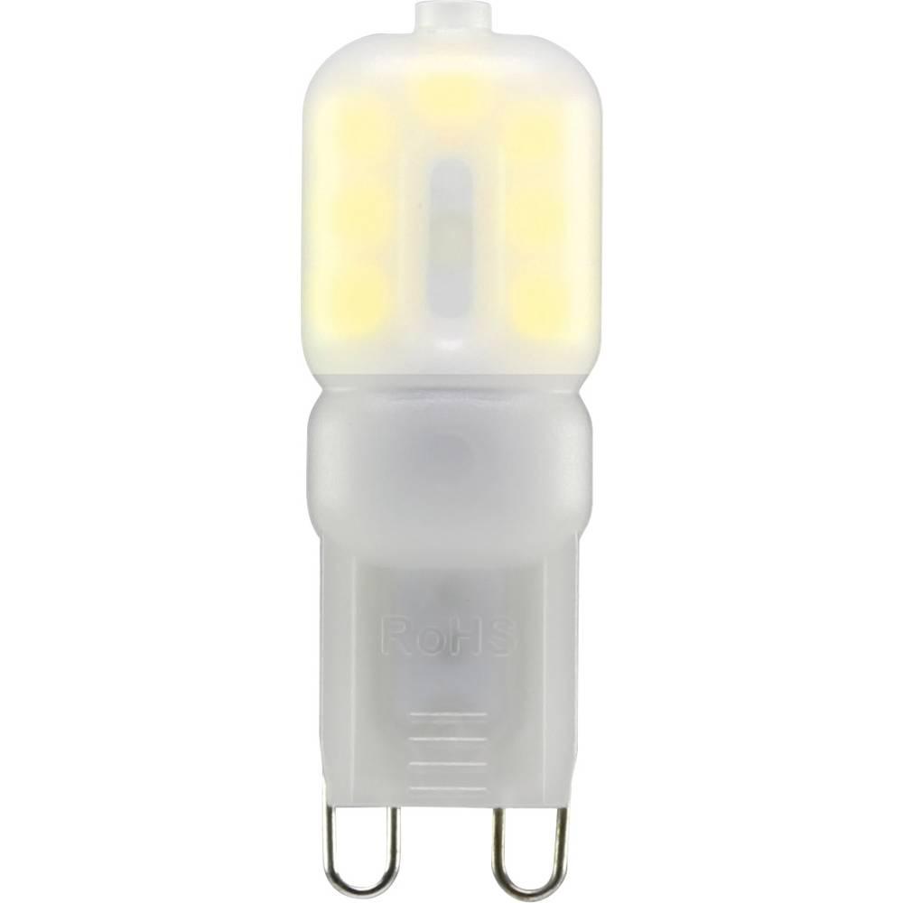 LED žarnica G9 oblika svinčnika 2.5 W = 20 W topla bela (premer x D) 16 mm x 48 mm EEK: A+ Sygonix 1 kos