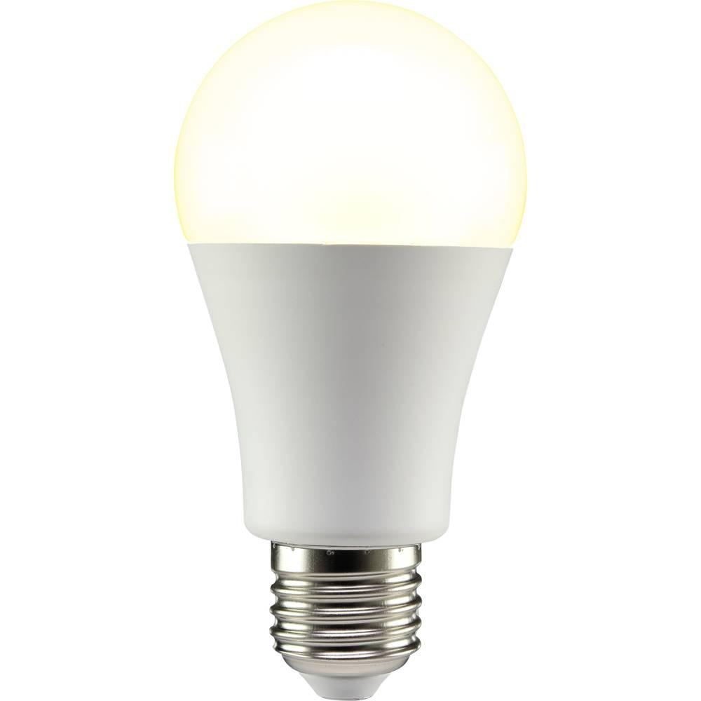 LED žarnica E27 klasična oblika 12 W = 75 W topla bela (premer x D) 60 mm x 119 mm EEK: A+ Sygonix 1 kos