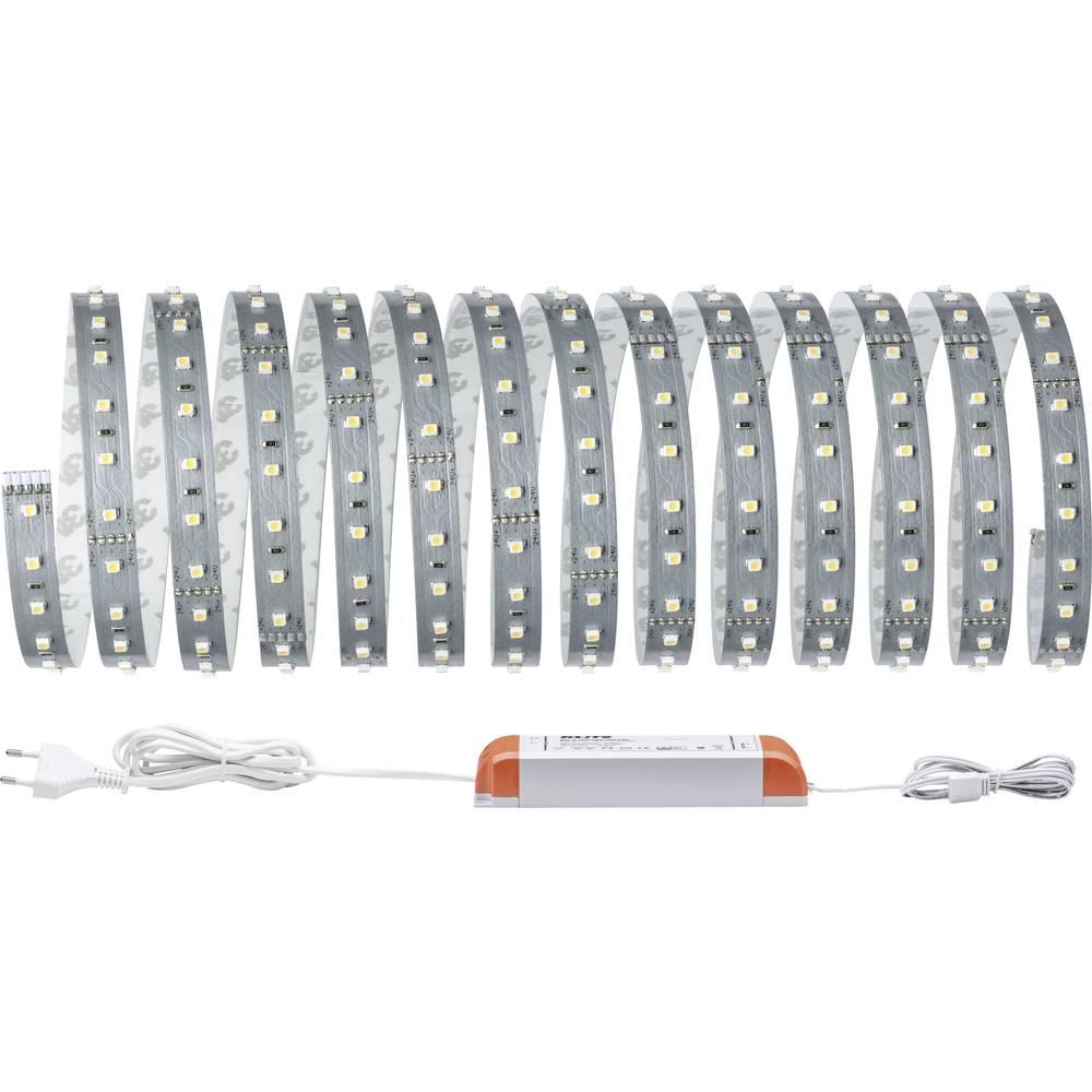 LED-trakovi-osnovni komplet z vtičem 24 V 500 cm toplo-bele barve Paulmann MaxLED 500 70604