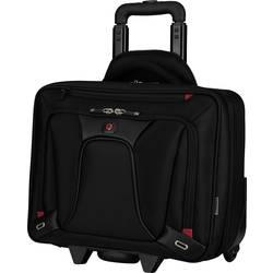 Kovček za prenosnik Wenger SwissGear Transfer Wheeled Business Case, primeren za največ 16, črn