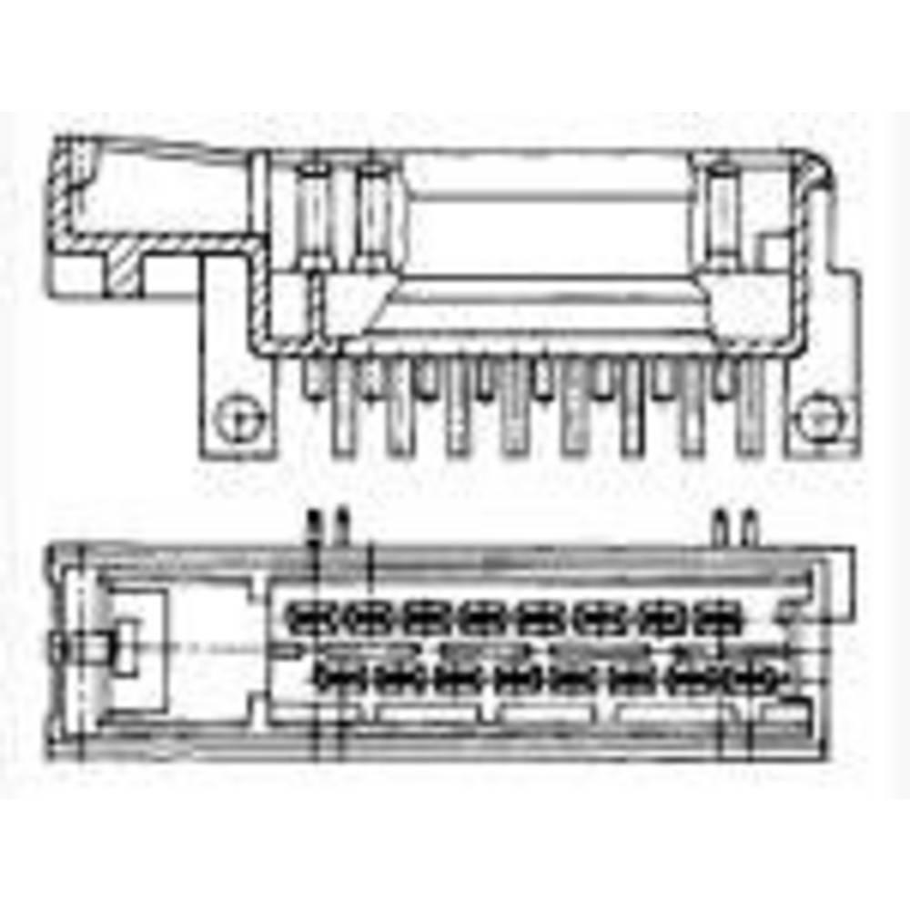 Stiftkabinet-printplade J-P-T Samlet antal poler 16 TE Connectivity 827539-1 Rastermål: 5 mm 1 stk