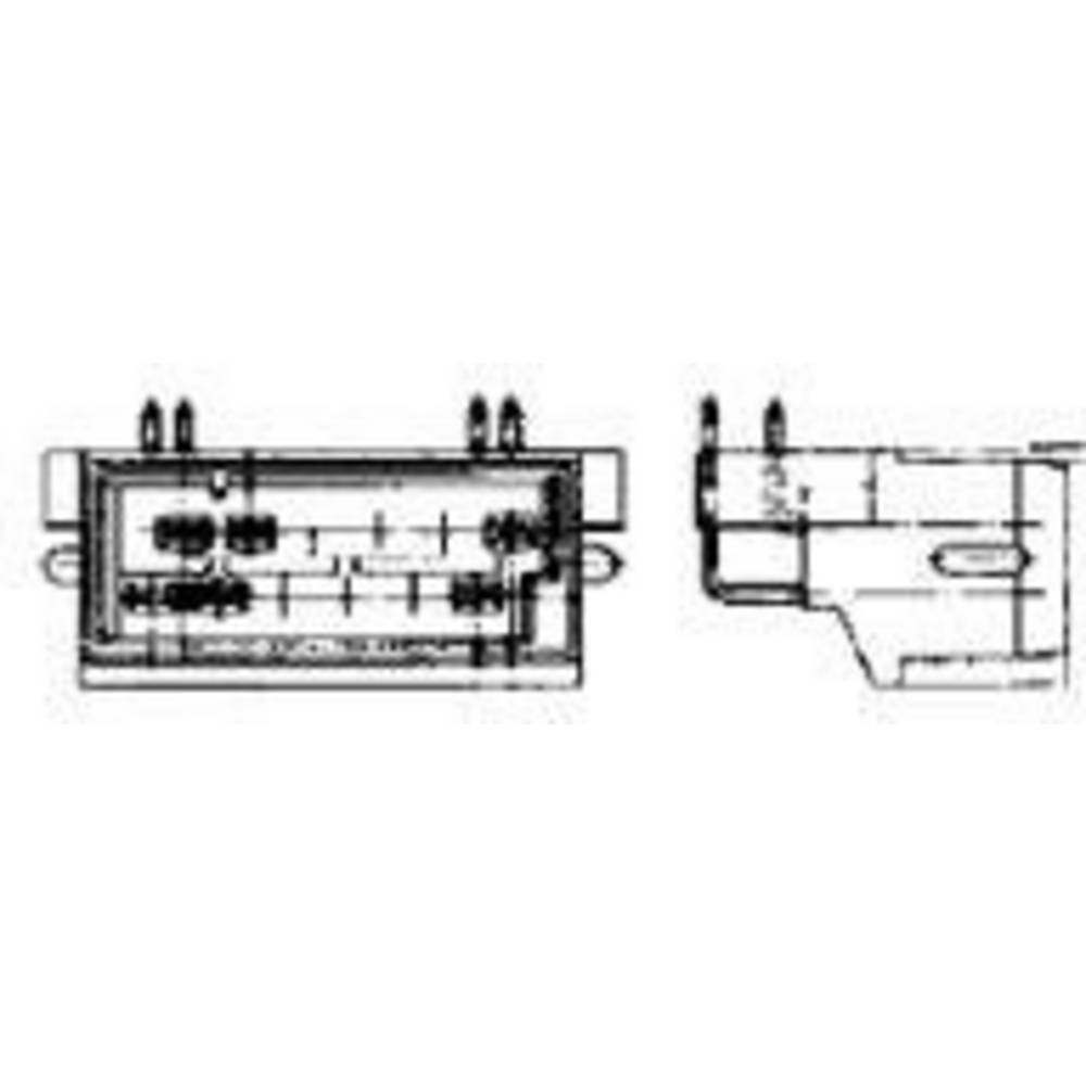 Stiftkabinet-printplade J-P-T Samlet antal poler 24 TE Connectivity 827229-1 Rastermål: 5 mm 1 stk