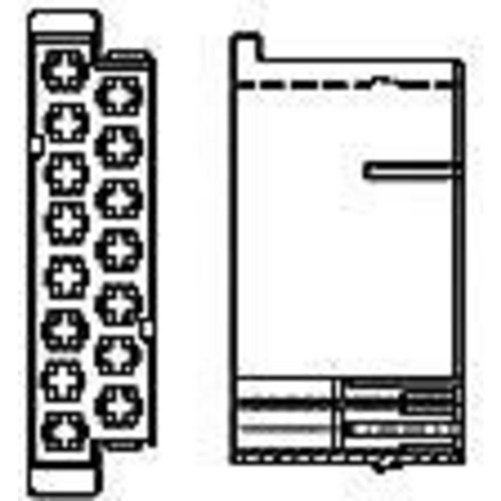 Ohišje kabelskega vtiča, skupno št. polov: 15 TE Connectivity 926171-1 razporeditev kontaktov: 5 mm 1 kos