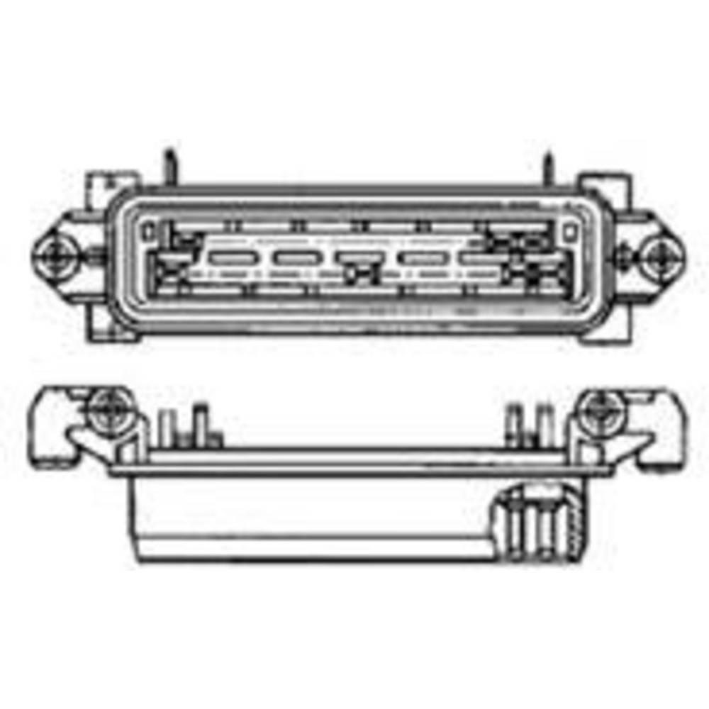 Stiftkabinet-printplade J-P-T (value.1360499) Samlet antal poler 25 TE Connectivity 828661-1 Rastermål: 5 mm 1 stk