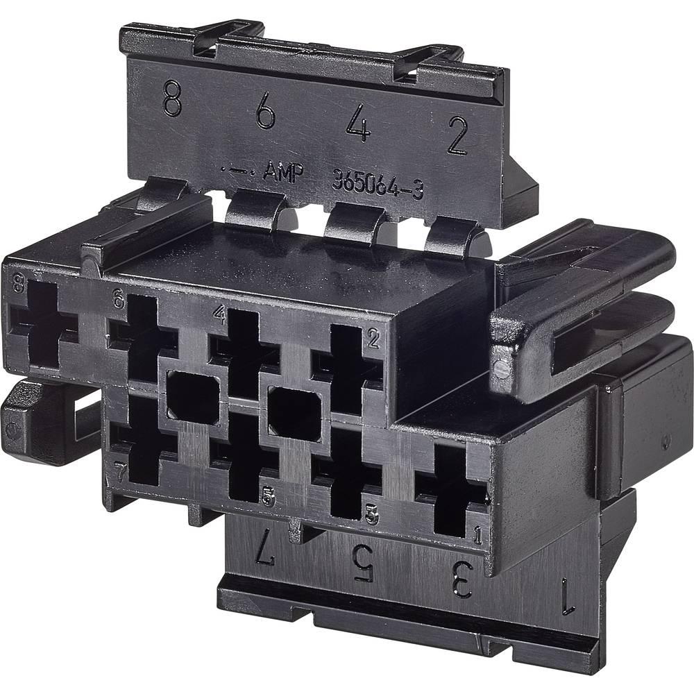 Ohišje kabelske vtičnice, skupno št. polov: 8 TE Connectivity 365064-3 razporeditev kontaktov: 6.2 mm 1 kos