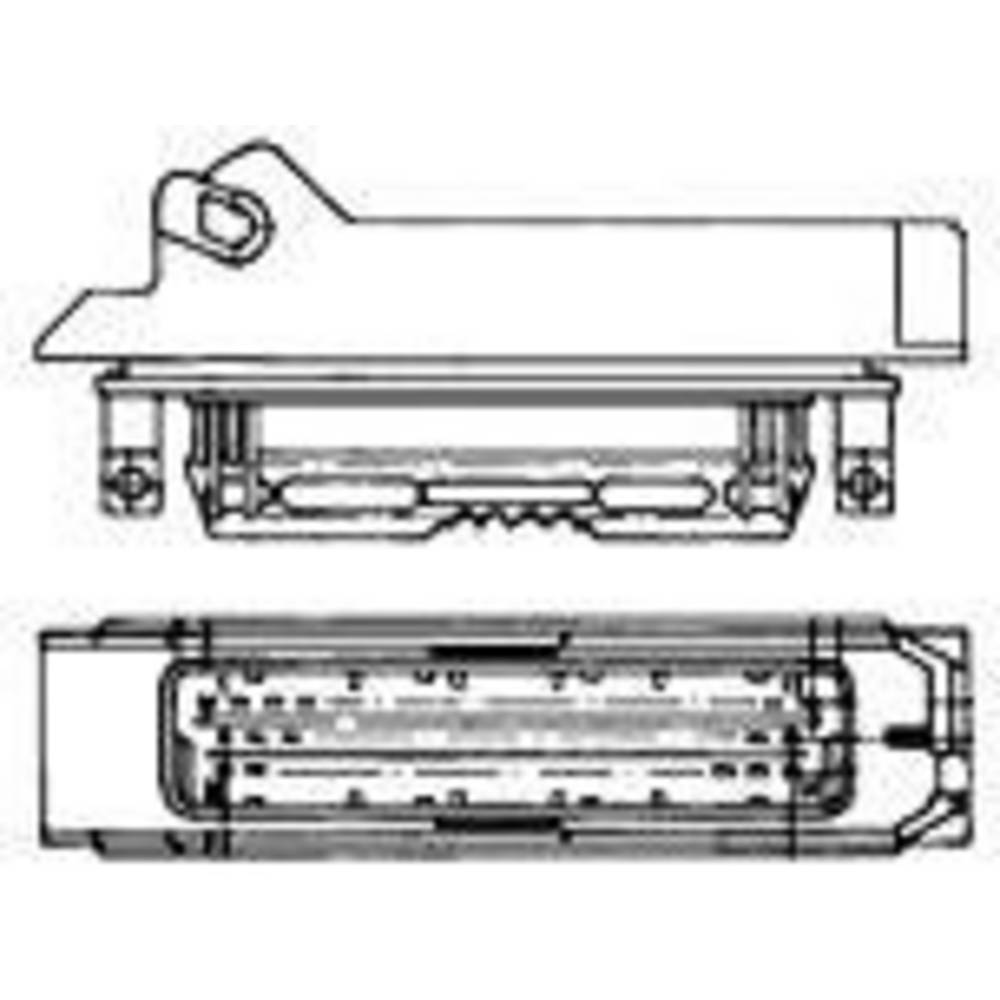 Ohišje kabelskega vtiča, skupno št. polov: 4 TE Connectivity 1-963207-1 razporeditev kontaktov: 5 mm 1 kos