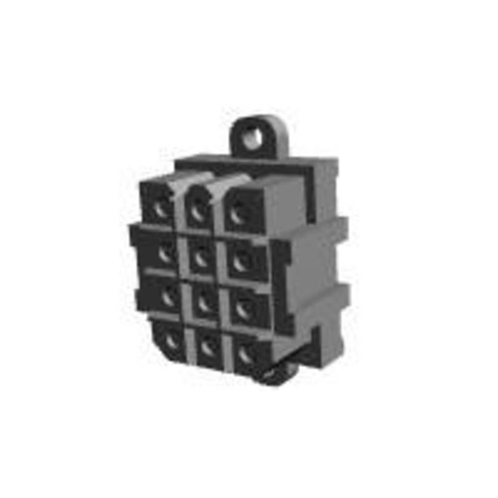 Tilslutningskabinet-printplade Metrimate Samlet antal poler 6 TE Connectivity 207524-9 Rastermål: 5 mm 1 stk