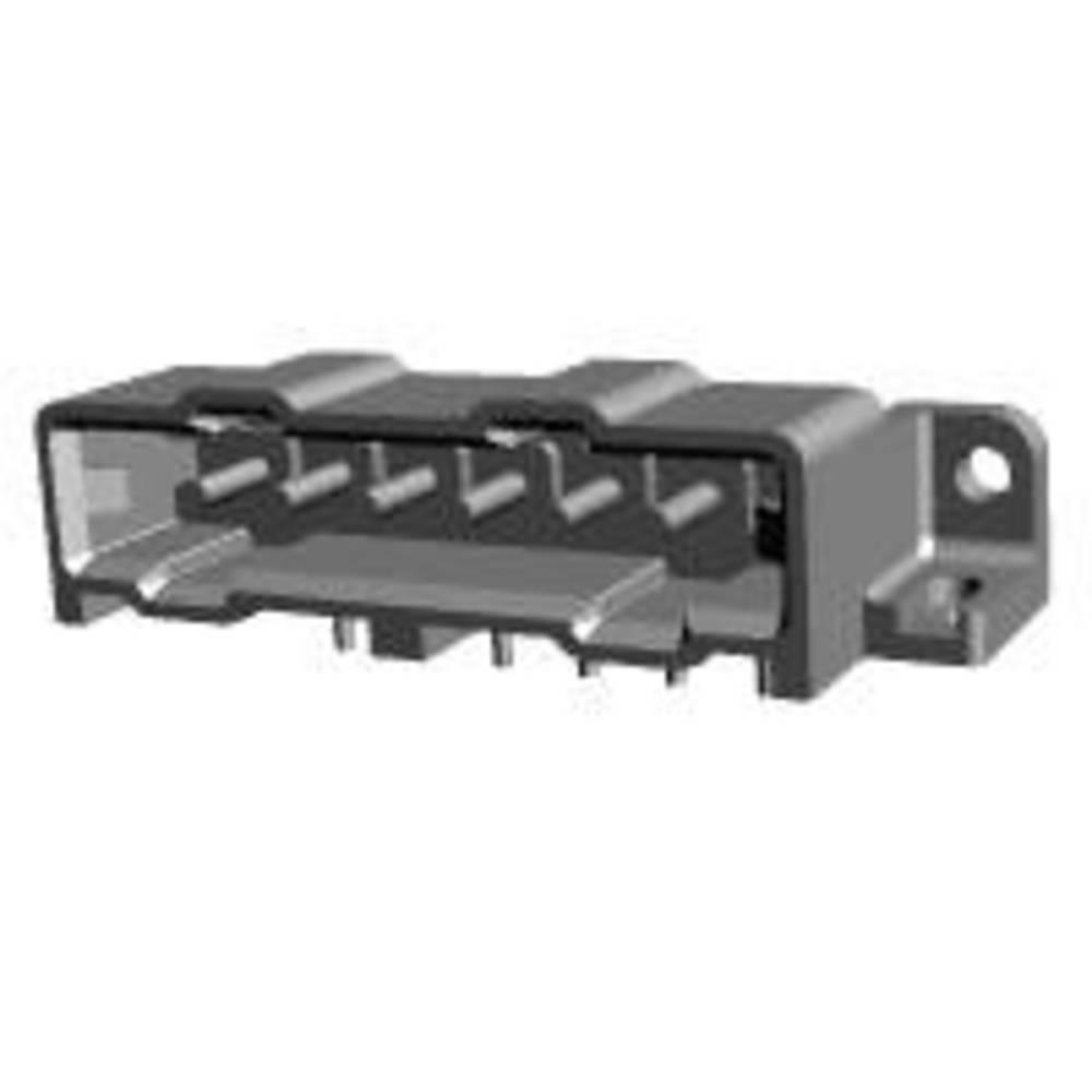 Ohišje vtiča za tiskano vezje, skupno št. polov: 6 TE Connectivity 207378-7 razporeditev kontaktov: 5 mm 1 kos