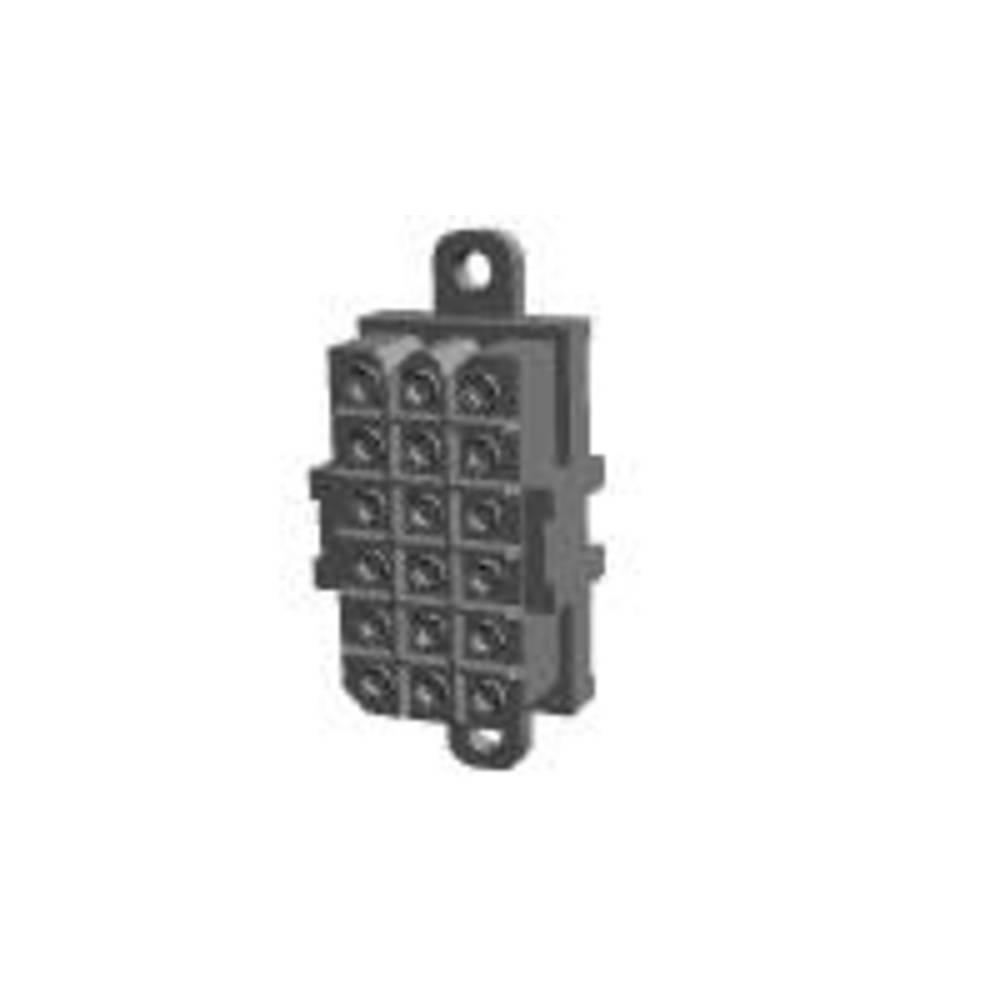 Tilslutningskabinet-printplade Metrimate Samlet antal poler 18 TE Connectivity 207530-7 Rastermål: 5 mm 1 stk