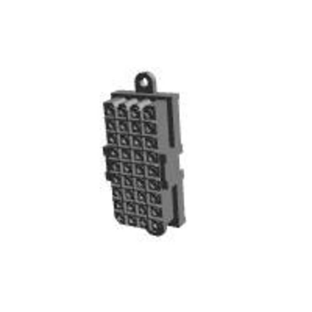Ohišje vtičnice za tiskano vezje, skupno št. polov: 36 TE Connectivity 207534-8 razporeditev kontaktov: 5 mm 1 kos