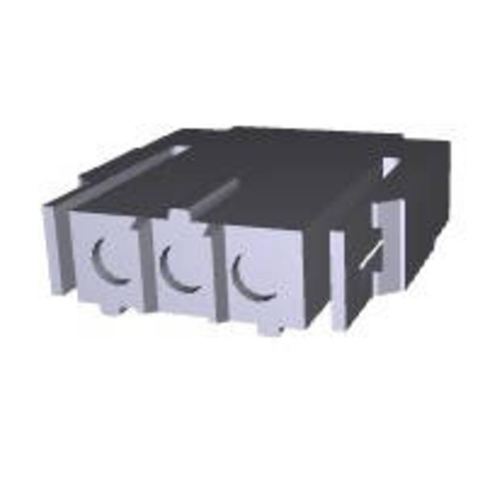 Ohišje kabelske vtičnice, skupno št. polov: 3 TE Connectivity 207360-1 razporeditev kontaktov: 5 mm 1 kos