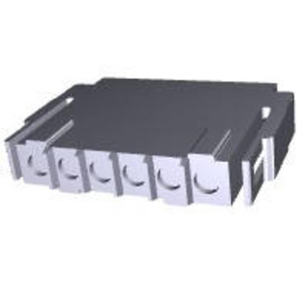 Ohišje kabelske vtičnice, skupno št. polov: 6 TE Connectivity 207377-1 razporeditev kontaktov: 5 mm 1 kos