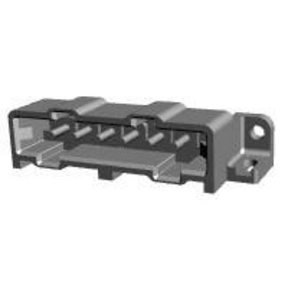 Ohišje vtiča za tiskano vezje, skupno št. polov: 6 TE Connectivity 207583-6 razporeditev kontaktov: 5 mm 1 kos