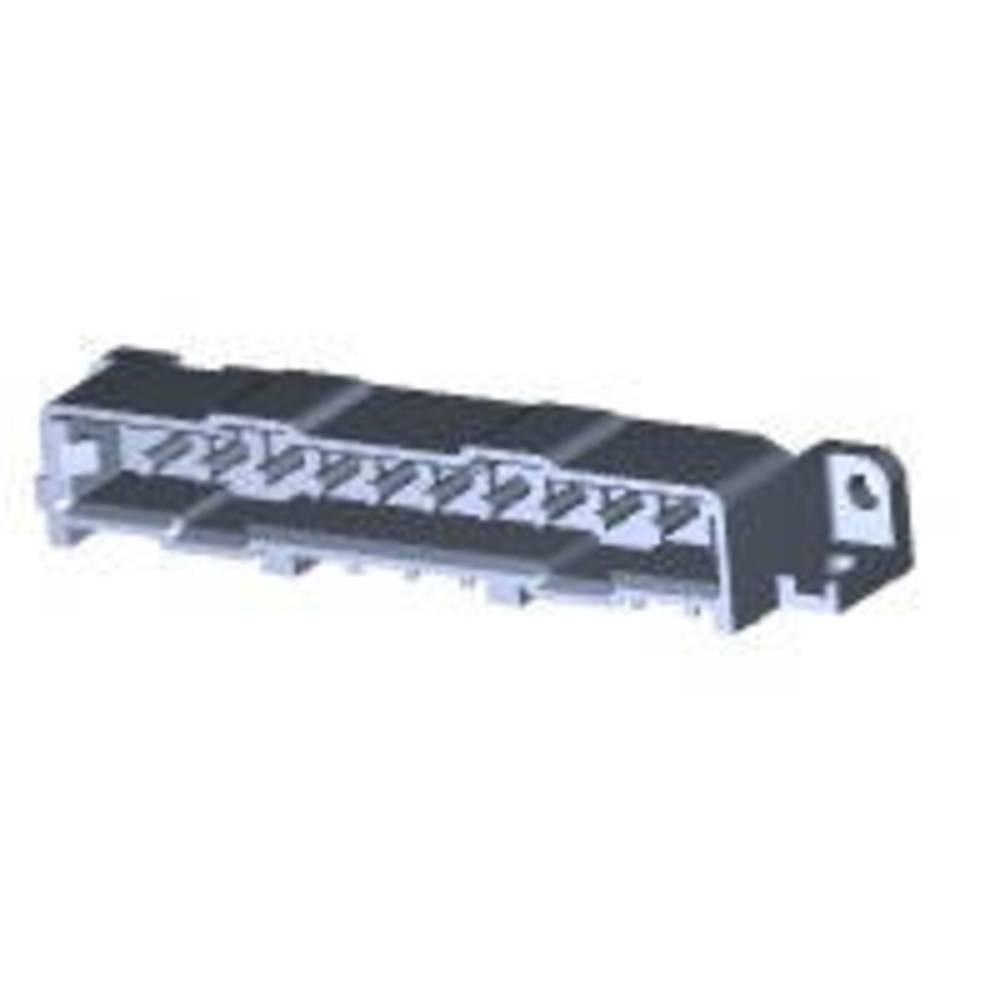 Ohišje vtiča za tiskano vezje, skupno št. polov: 10 TE Connectivity 207398-7 razporeditev kontaktov: 5 mm 1 kos