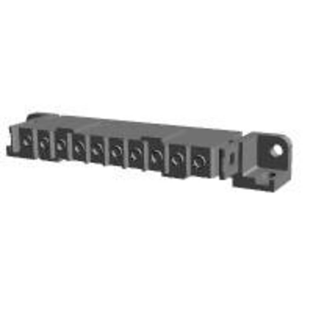 Ohišje vtičnice za tiskano vezje, skupno št. polov: 10 TE Connectivity 207613-6 razporeditev kontaktov: 5 mm 1 kos