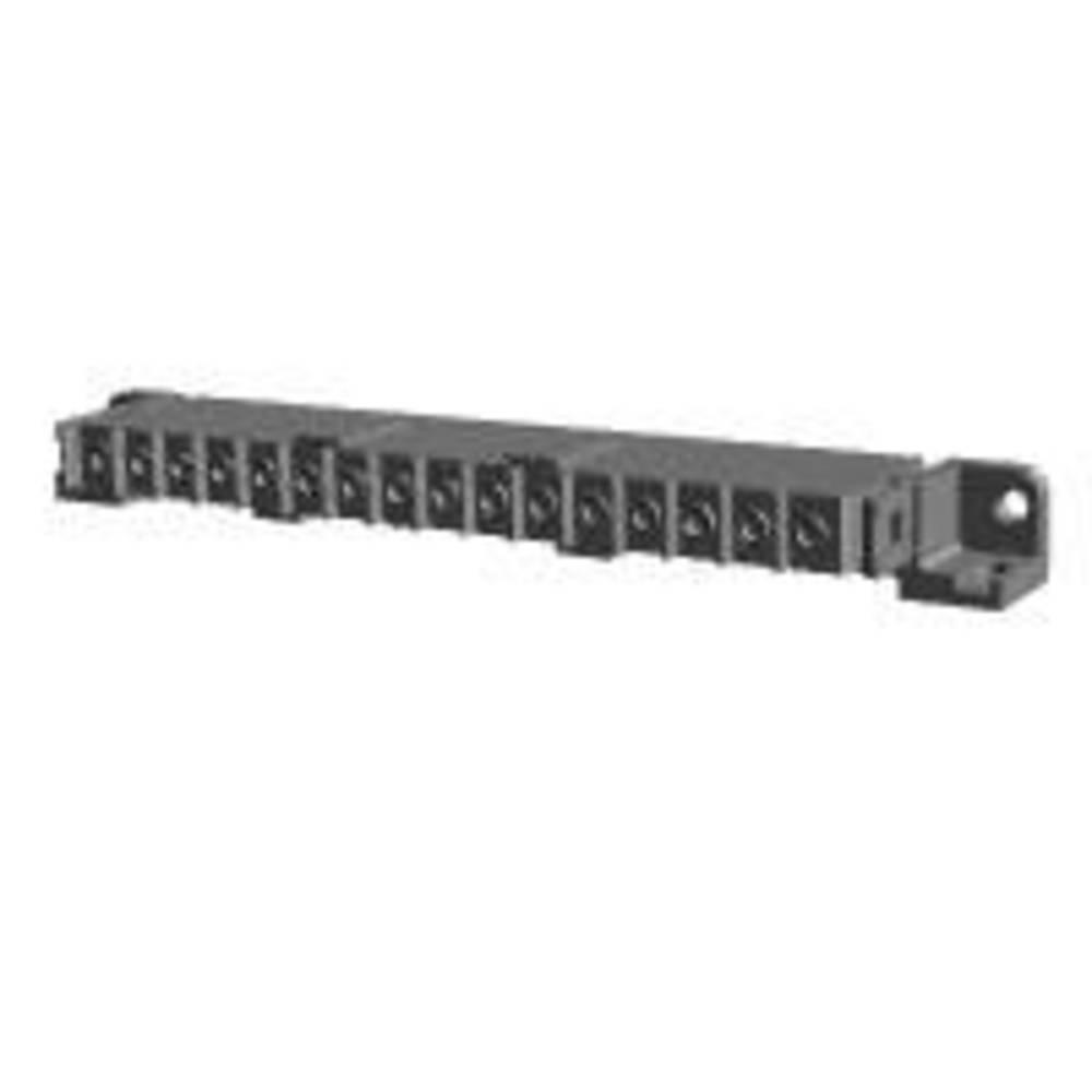 Ohišje vtičnice za tiskano vezje, skupno št. polov: 16 TE Connectivity 207615-7 razporeditev kontaktov: 5 mm 1 kos