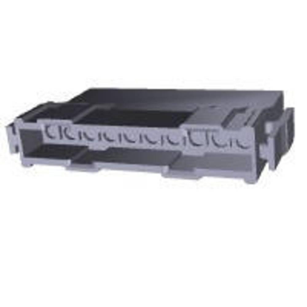 Ohišje kabelskega vtiča, skupno št. polov: 10 TE Connectivity 207397-1 razporeditev kontaktov: 5 mm 1 kos