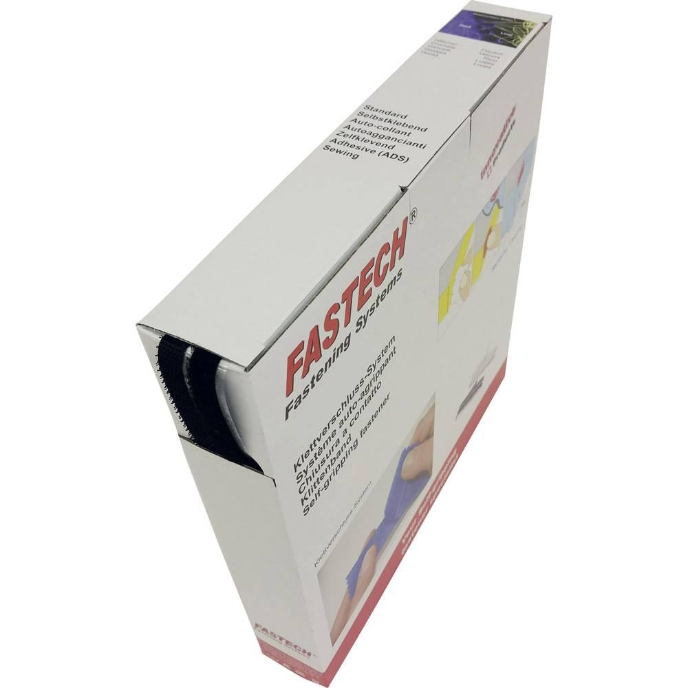 Čičak traka za lijepljenje B10-SKL999925 Fastech dio za pričvršćivanje i flis (D X Š) 25 m x 10 mm crna 25 m