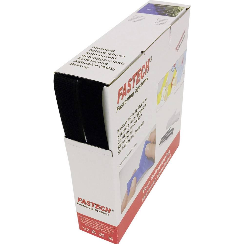 Čičak traka za šivanje B20-STD999910 Fastech dio za pričvršćivanje i flis (D X Š) 10 m x 20 mm crna 10 m