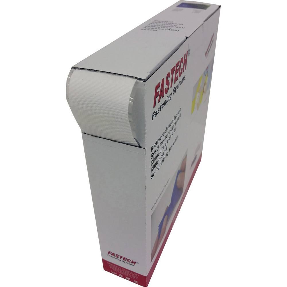 Sprijemalni trak za lepljenje z mikro kljukicami (D x Š) 25 m x 50 mm bele barve Fastech 25 m
