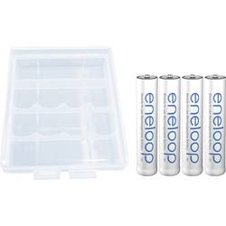 Micro (AAA) akumulator NiMH Panasonic eneloop HR03 + Box 750 mAh 1.2 V 4 kosov