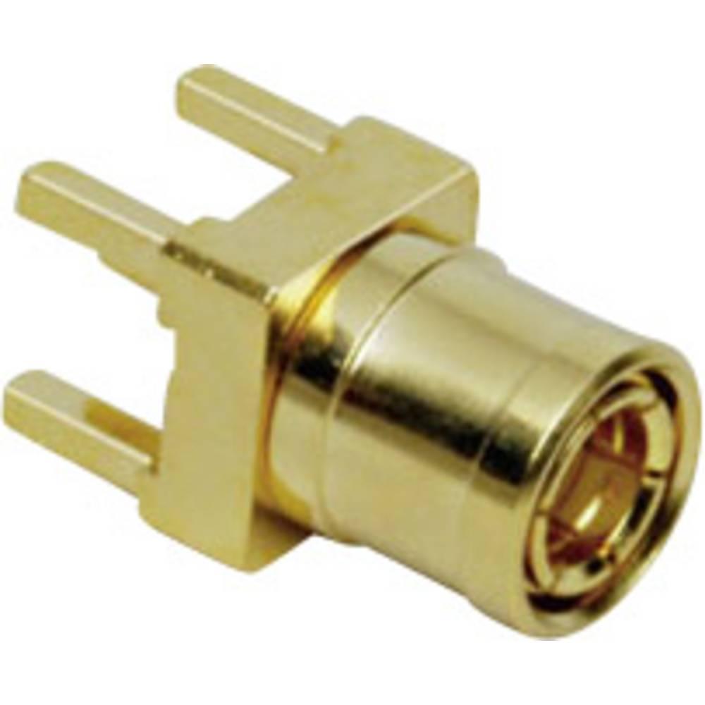 SMB-reverse-stikforbindelse BKL Electronic 0411027 50 Ohm Stik, indbygning lodret 1 stk