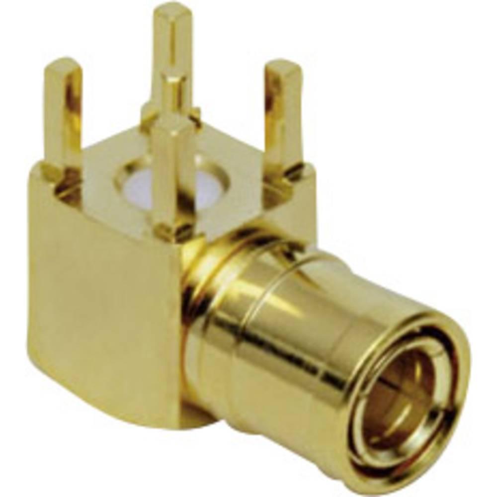 SMB-reverse-stikforbindelse BKL Electronic 0411029 50 Ohm Stik, indbygning vandret 1 stk