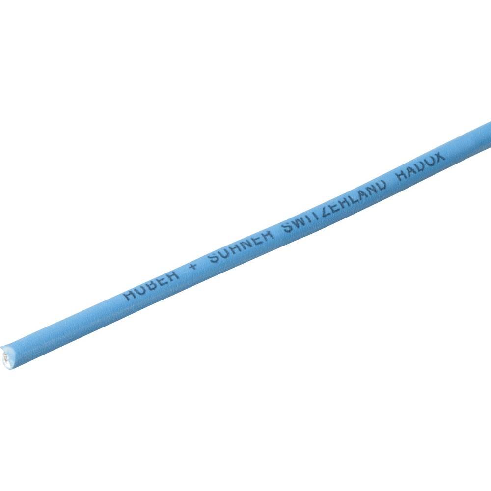 Finožični vodnik Radox® 155 1 x 0.25 mm modre barve Huber & Suhner 12420743 meterski