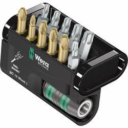 Set bit-nastavaka, 12-dijelni set Wera Bit-Check 12 Wood 1 05057423001 križni Pozidriv, križni Phillips, unutarnji TORX