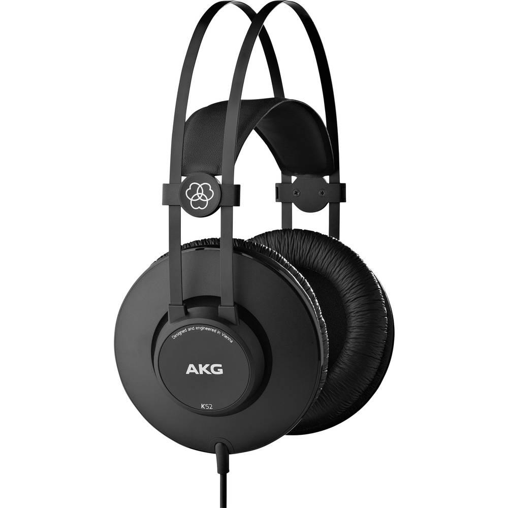 Studijske slušalke AKG Harman K52, Over Ear, črne