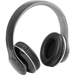 Hörlurar Over Ear Technaxx MusicMan BigBass BT-X15 Bluetooth Svart