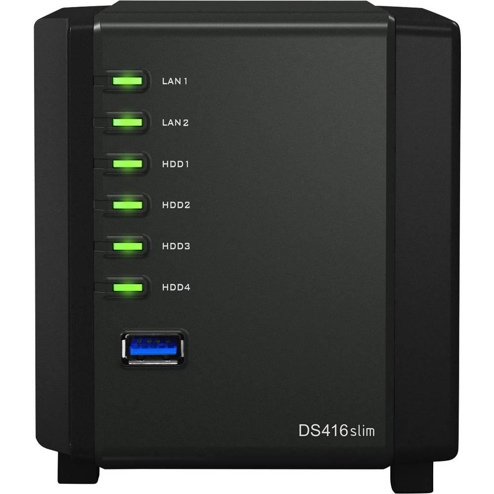 Ohišje za NAS-strežnik Synology DiskStation DS416slim 4 Bay