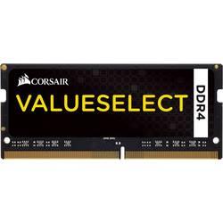 Modul delovnega pomnilnika za prenosnik Corsair ValueSelect CMSO4GX4M1A2133C15 4 GB 1 x 4 GB DDR4-RAM 2133 MHz CL15-15-15-36