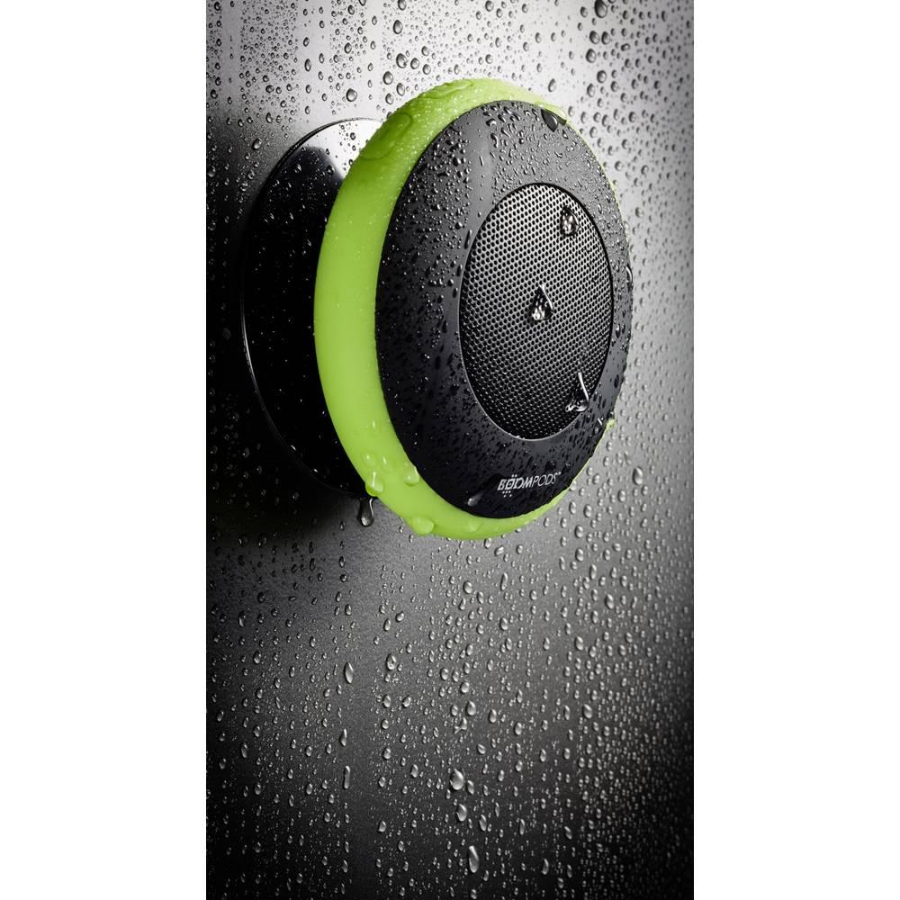 Bluetooth® zvočnik Boompods Aquapod s funkcijo prostoročno govorjenje, odporen na špricano vodo, udarce zelena