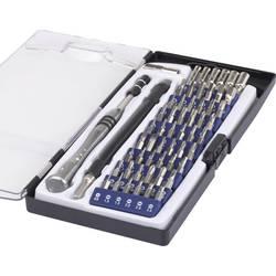 Set bit-nastavaka, 58-dijelni set Basetech 1430586 ravni, križni Phillips, unutarnji TORX, TORX BO, unutarnji šesterokutni, unut