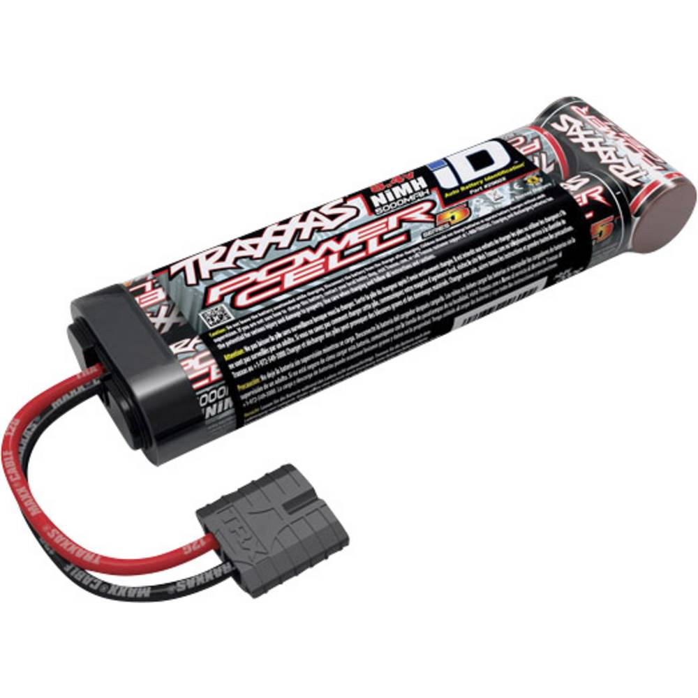 Modelbyggeri-batteripakke (NiMH) Traxxas 8.4 V 5000 mAh Side by Side Traxxas iD