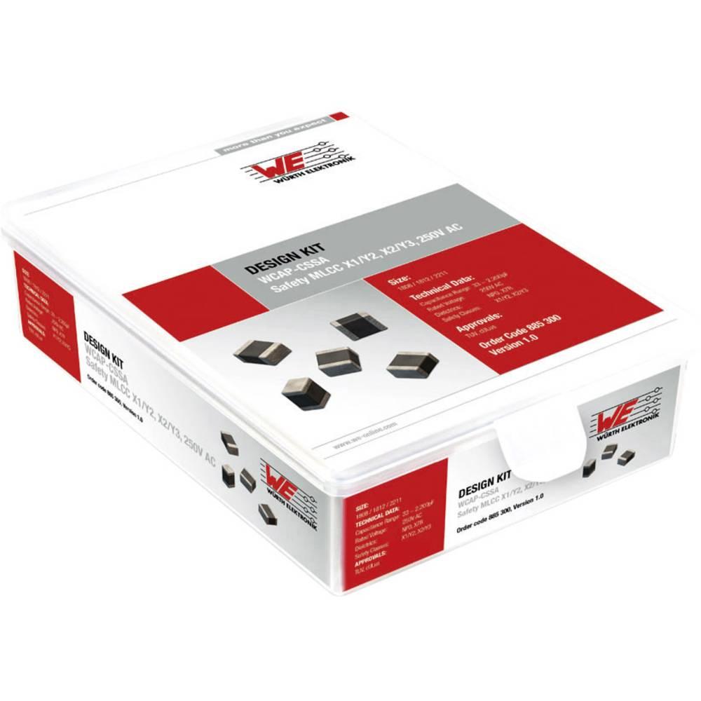 Design Kit, kondenzatorji Würth Elektronik WCAP-CSSA 885300 450 delov