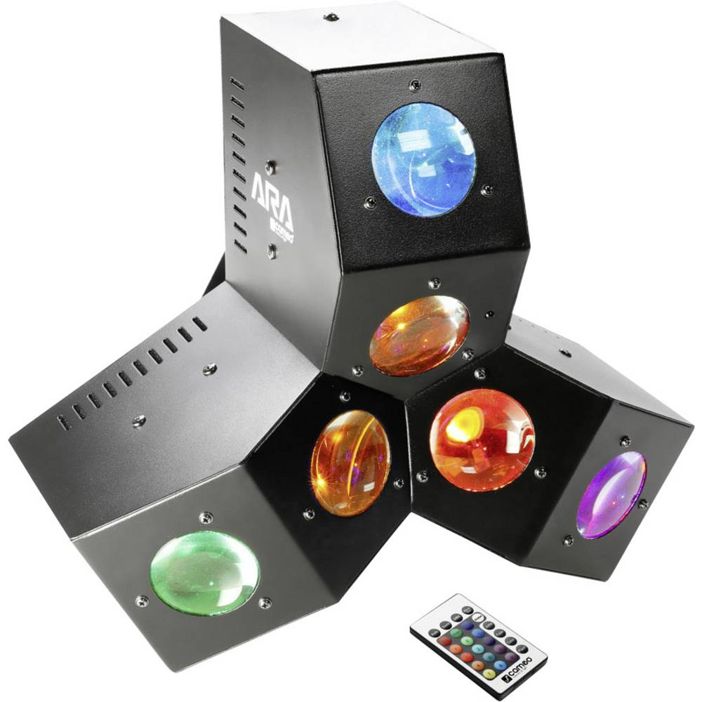 LED-Reflektor za svetlobne učinke Cameo ARA št. LED:24 x 3 W