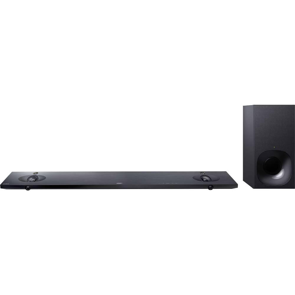 Zvučnički sustav soundbar HT-NT5 Sony crna Bluetooth®, uklj. bežični subwoofer, USB, NFC, WLAN, pričvršćenje za zid