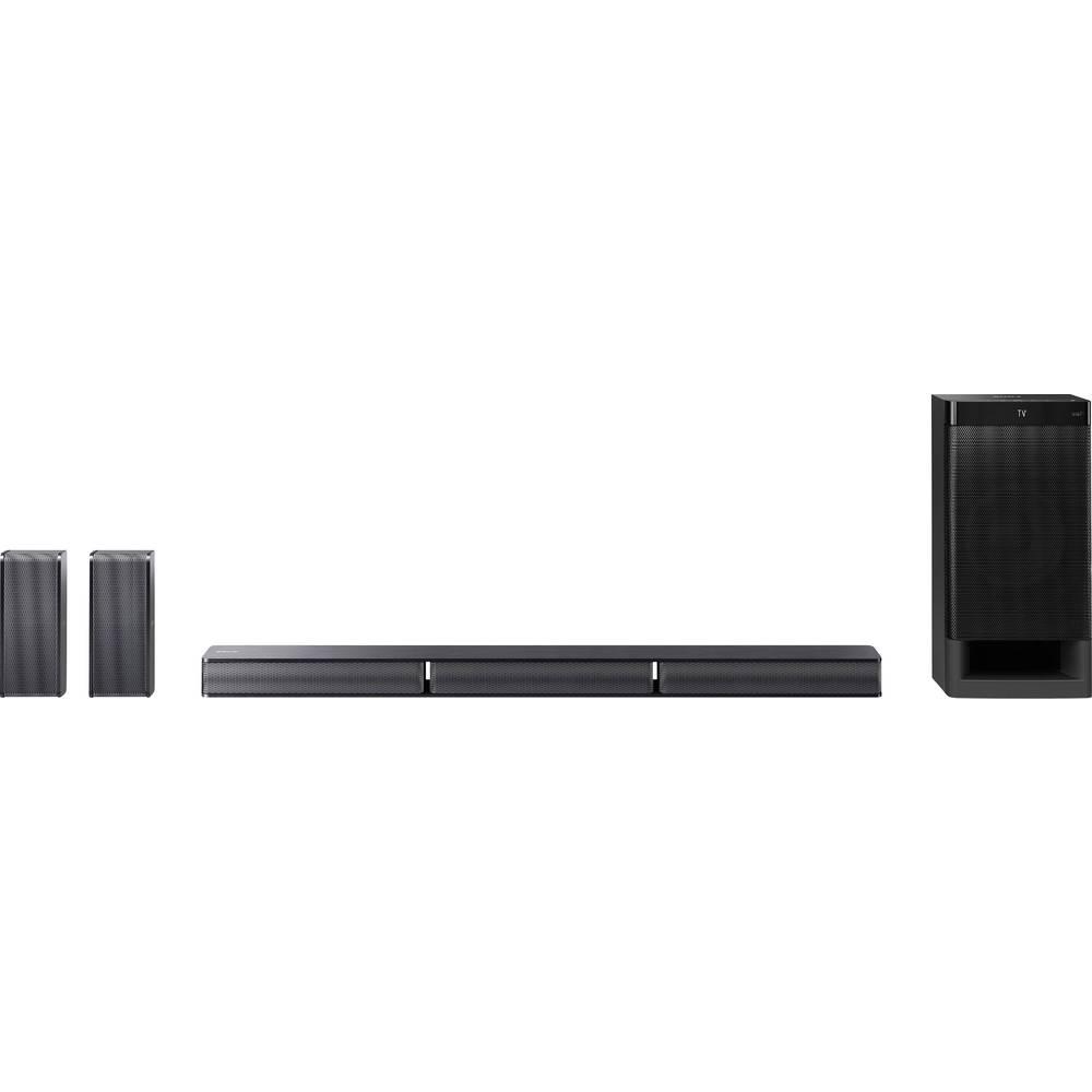 Zvučnički sustav soundbar HT-RT3 Sony crna Bluetooth®, USB, NFC, uklj. subwoofer s kablom, pričvršćenje za zid